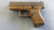 GLOCK 43 9MM FDE FINISH